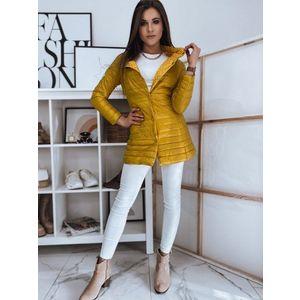Žltý obojstranný kabátik KATIE. vyobraziť