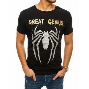 Originálne čierne tričko Great Genius vyobraziť