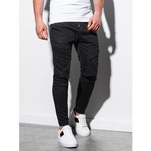 čierne jogger nohavice vyobraziť