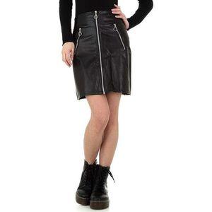 Dámska kožená sukňa Holala vyobraziť