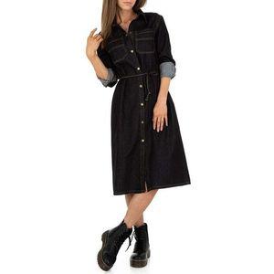 Dámske riflové šaty JCL vyobraziť