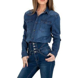 Dámska džínsová košeľa vyobraziť