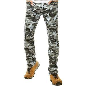 sivé pánske maskáčové nohavice vyobraziť