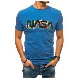 Modré pánske tričko nasa vyobraziť
