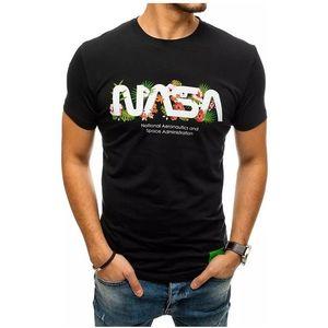 čierne pánske tričko nasa vyobraziť