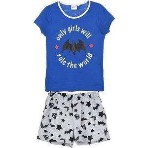 Batgirl modré dievčenské pyžamo vyobraziť