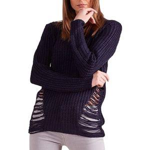 Dámsky modrý pulóver vyobraziť