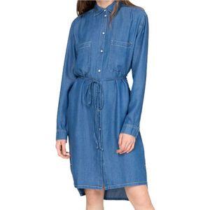 Dámske košeĺové džínsové šaty Pepe Jeans vyobraziť
