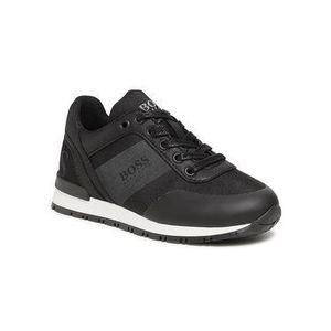 Boss Sneakersy J29M38 09B S Čierna vyobraziť