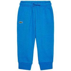 Lacoste Teplákové nohavice XJ9476 Modrá Regular Fit vyobraziť
