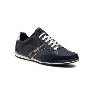 Boss Sneakersy Saturn 50407672 10216105 01 Tmavomodrá vyobraziť