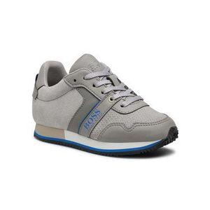 Boss Sneakersy J29253 Sivá vyobraziť