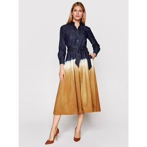 Weekend Max Mara Džínsové šaty Dorina 52210917 Farebná Regular Fit vyobraziť