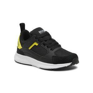 Boss Sneakersy J29243 Čierna vyobraziť