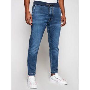 Pepe Jeans Jogger nohavice GYMDIGO New Johnson PM205897 Modrá Relaxed Fit vyobraziť
