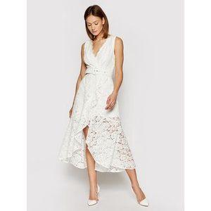 Guess Koktejlové šaty Donna W1GK0V WDW30 Biela Regular Fit vyobraziť