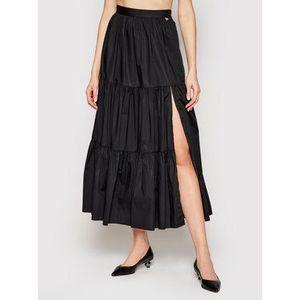 TwinSet Maxi sukňa 211TT245D Čierna Regular Fit vyobraziť