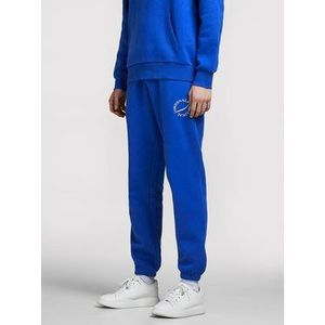 Jack&Jones Teplákové nohavice Elias 12195676 Modrá Comfort Fit vyobraziť