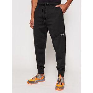 Calvin Klein Jeans Teplákové nohavice J30J317371 Čierna Relaxed Fit vyobraziť