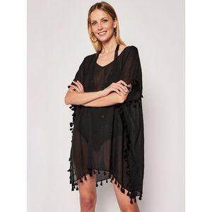 Seafolly Plážové šaty Amnesia 52162 Čierna Regular Fit vyobraziť