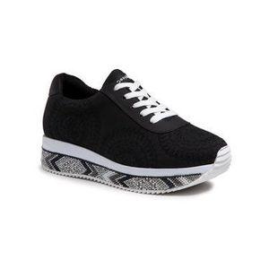 Desigual Sneakersy Indian Mandala 21SSKP19 Čierna vyobraziť