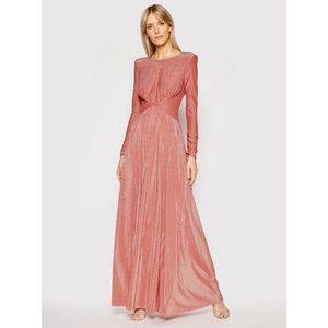 Liu Jo Večerné šaty IA1067 J6023 Oranžová Regular Fit vyobraziť
