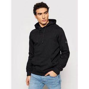 Calvin Klein Jeans Mikina J30J314036 Čierna Regular Fit vyobraziť