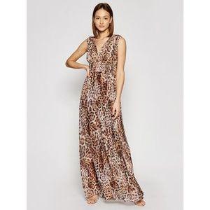 Marciano Guess Večerné šaty 1GG723 7068Z Hnedá Regular Fit vyobraziť