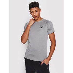 PUMA Funkčné tričko sivá vyobraziť