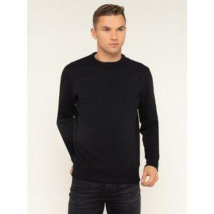 Calvin Klein Jeans Mikina Monogram J30J314035 Čierna Regular Fit vyobraziť