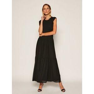 MICHAEL Michael Kors Večerné šaty Del 3 MU08ZU37R3 Čierna Regular Fit vyobraziť