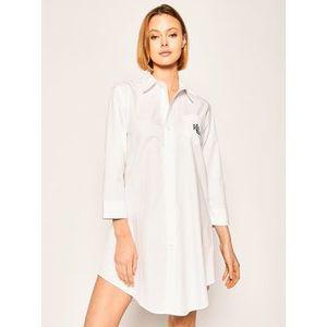 Lauren Ralph Lauren Nočná košeľa I8131326 Biela Regular Fit vyobraziť