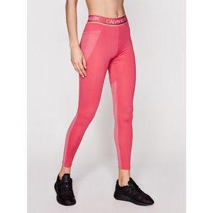 Calvin Klein Performance Legíny Full Lenght Tight 00GWS1L650 Ružová Slim Fit vyobraziť