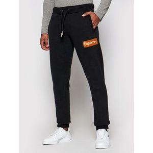 Superdry Teplákové nohavice Cl Workwear M7010552A Čierna Regular Fit vyobraziť