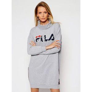 Fila Úpletové šaty FILA FPW4027 Sivá Regular Fit vyobraziť