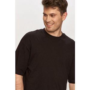 JACK & JONES Tričko čierna vyobraziť