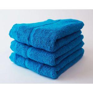 Dobrý Textil Malý uterák Economy 30x50 - Azurově modrá vyobraziť