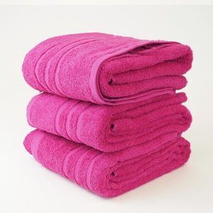 Dobrý Textil Osuška Economy 70x140 - Purpurová vyobraziť