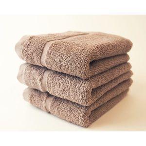 Dobrý Textil Malý uterák Economy 30x50 - Béžová vyobraziť