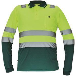 Zelené tričko s dlhým rukávom - L vyobraziť
