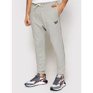 Reebok Teplákové nohavice Identity GJ0633 Sivá Regular Fit vyobraziť