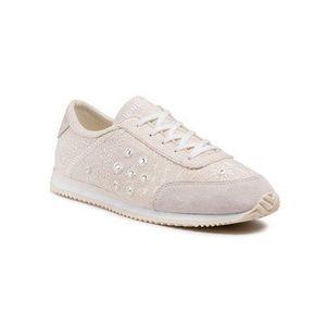 Desigual Sneakersy Royal Exotic 21SSKA09 Béžová vyobraziť