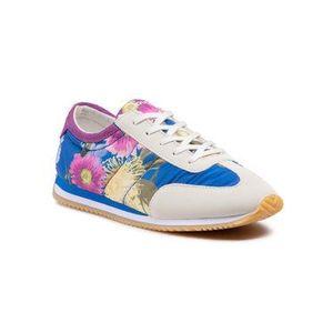 Desigual Sneakersy Royal Flowers 21SSKA10 Modrá vyobraziť
