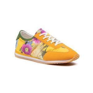 Desigual Sneakersy Royal Flowers 21SSKA10 Žltá vyobraziť