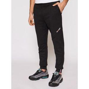 Tommy Hilfiger Teplákové nohavice Terry Logo MW0MW18462 Čierna Regular Fit vyobraziť