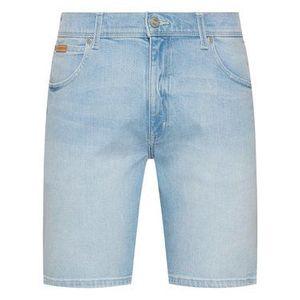Wrangler Džínsové šortky Texas W11CZH280 Modrá Slim Fit vyobraziť