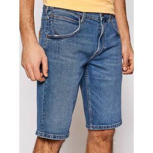 Wrangler Džínsové šortky Colton W15VJX87V Modrá Regular Fit vyobraziť