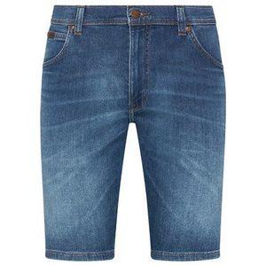 Wrangler Džínsové šortky Texas W11CQ148R Modrá Slim Fit vyobraziť