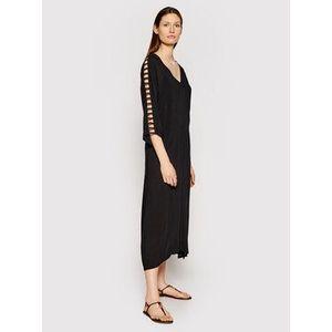 Chantelle Plážové šaty Seashell C20H70 Čierna Regular Fit vyobraziť