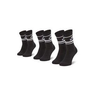 Súprava 3 párov vysokých ponožiek unisex NIKE vyobraziť